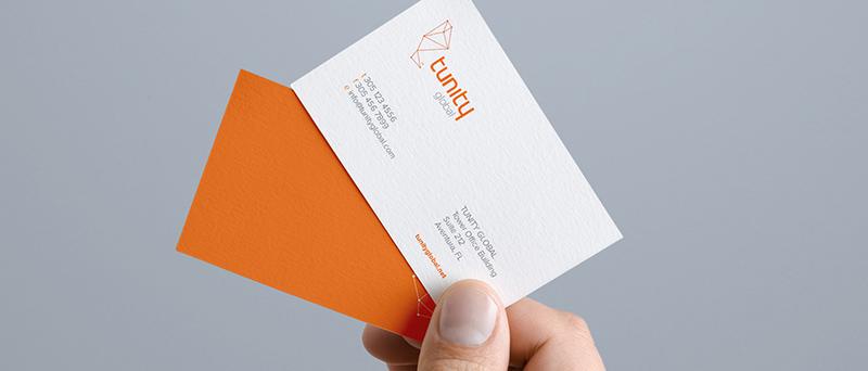 Promovare afacere - carti de vizita